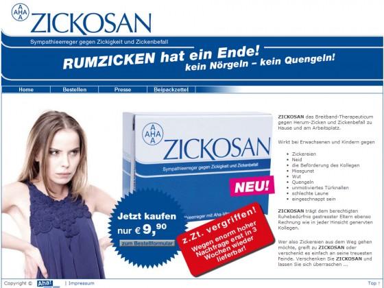 Zickosan