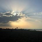Abend am Strand von Riumar