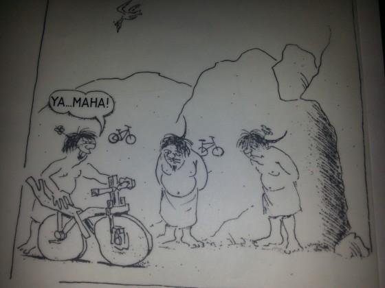 Die Urmutter alles Yamahas..