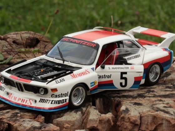 BMW 3.5CSL Sepp Manhalter 1977 Sieg Havirov Minichamps 1:18