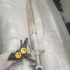 R1 Bremse an YZF 750 Gabel