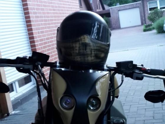 Helm mit neuem Design