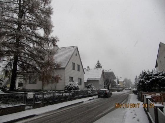 2017 erster Schnee